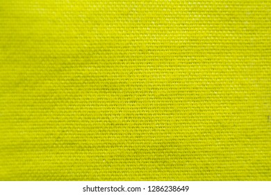 Yellow cloth surface
