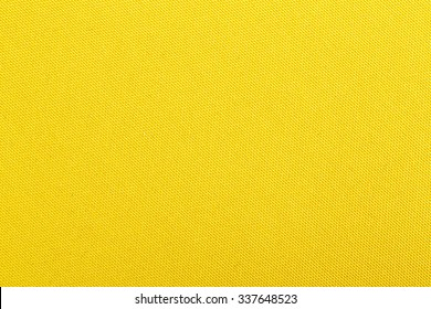 Yellow cloth texture background, book cover.