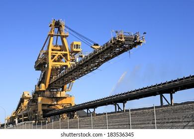 A Yellow Coal Loader