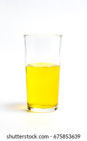 Yellow cocktail in a tall glass