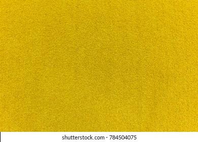yellow Coir natural fiber doormat texture for background.