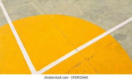 yellow color everywhere and architeture