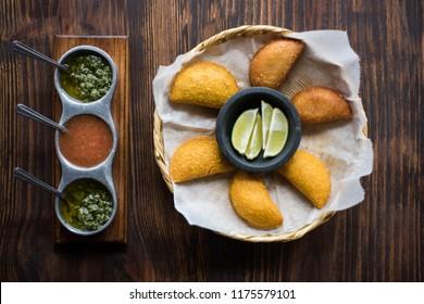 Yellow Corn Empanadas
