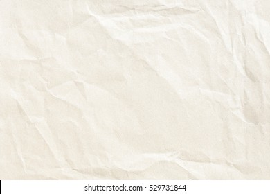 Yellow crumpled paper texture