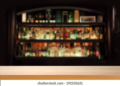 yellow desk and bar