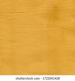 Yellow detailed background texture of leather