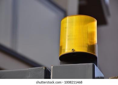 Yellow door alarm