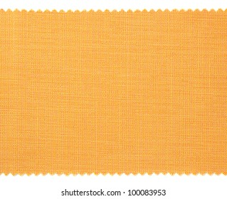 Yellow fabric swatch samples texture