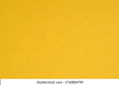 Yellow fabric texture surface as background