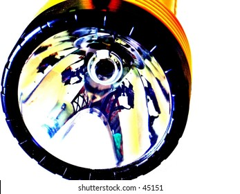 Yellow flashlight / lantern
