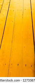Yellow Floorboards Background
