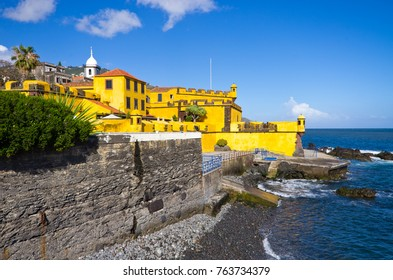Yellow fort in Funchal - Madeira