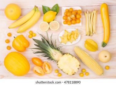 Yellow Fruit Images, Stock Photos & Vectors | Shutterstock