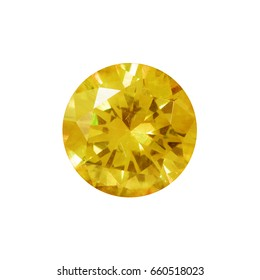 yellow gems on a white background,citrine