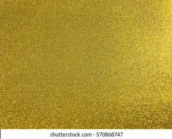 Yellow or gold color glitter for background shining beautiful bright tinsel paper