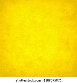 Yellow Grunge Background Texture