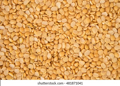 Yellow legume or dal background