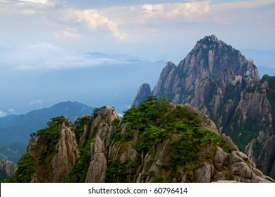 Yellow Mountain Rocks China