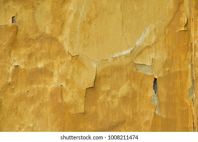 Yellow old wall