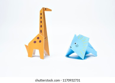 Amazing Origami Giraffe Images Stock Photos Vectors Shutterstock Wiring Cloud Geisbieswglorg