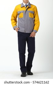 Yellow overalls