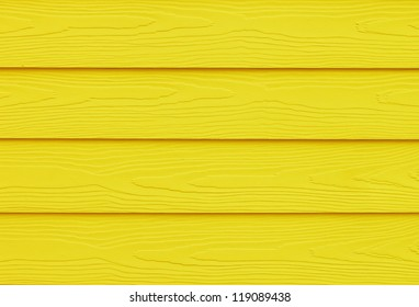 Yellow Painted Wood