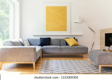 Corner Sofa Images, Stock Photos & Vectors | Shutterstock