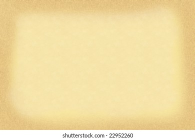 Yellow paper background with dark edges