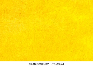 Yellow Paper Texture. Background