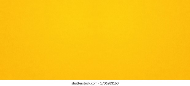 Yellow paper texture background. clean blank wallpaper banner