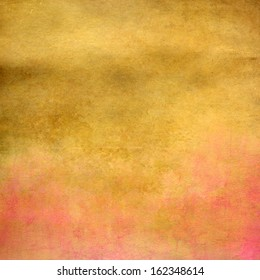 Yellow and pink abstract texture for background