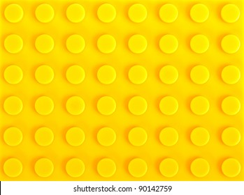 yellow plastic construction background
