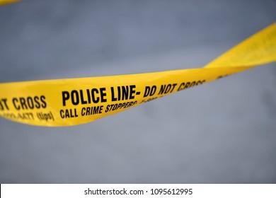 Imágenes, fotos de stock y vectores sobre Police Line   Shutterstock