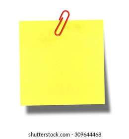 Postit on Blank Ruler Template
