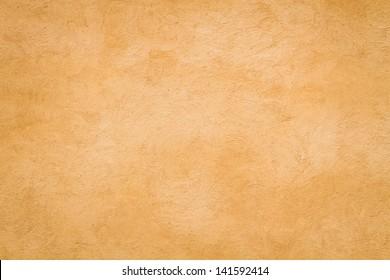 Yellow Roman wall texture background, Rome Italy