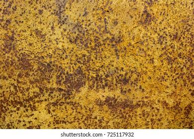 Yellow Rust Texture Background