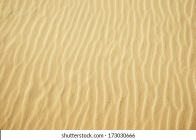 Yellow sand texture for background