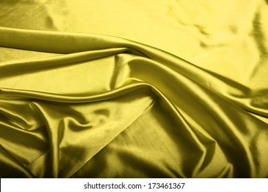 Yellow silk background