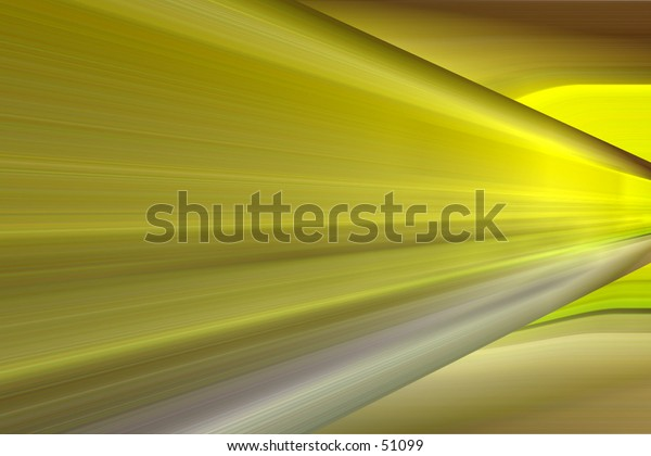 Yellow and Silver Blur