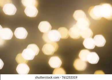 yellow small lights Bukeh Background for christmas