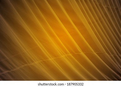 Yellow smooth wave background.