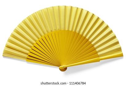 yellow spanish fan
