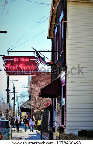 Yellow Springs Oh United States April Stock Photo Edit Now