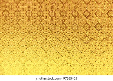 yellow stained glass background