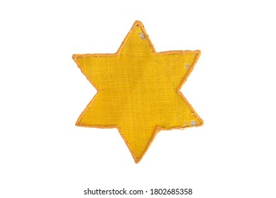 Yellow Star Of David real world war relic
