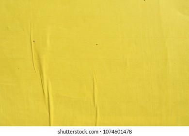 yellow street poster texture