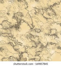 Yellow striated rock seamless background
