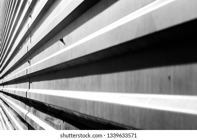 yellow striped wall abstraction