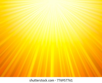 yellow sun burst abstract background