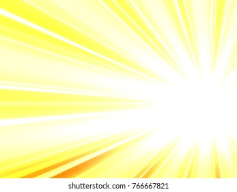 yellow sun burst background